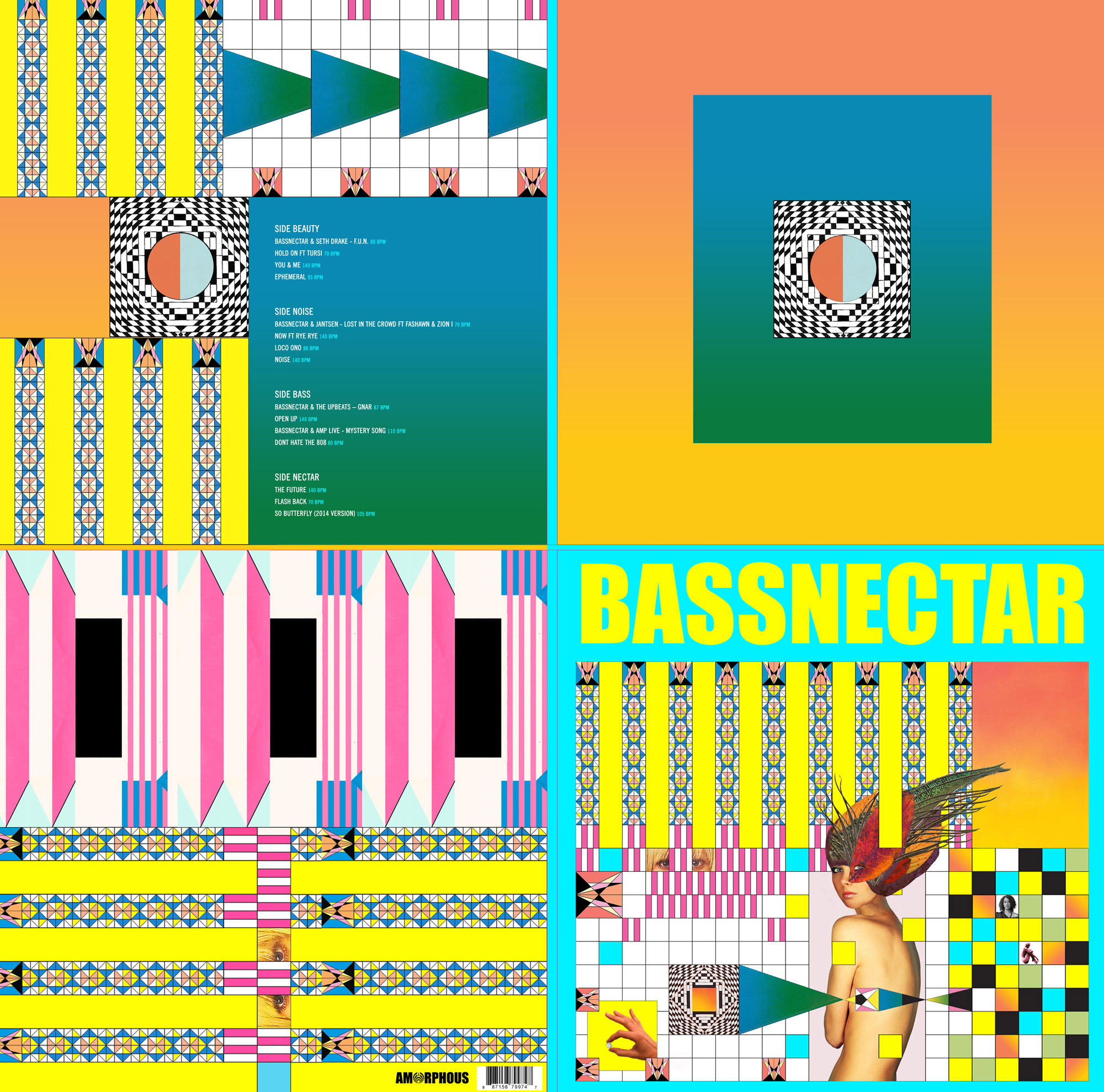 Bassnectar - Noise vs Beauty Vinyl- In Stores Now