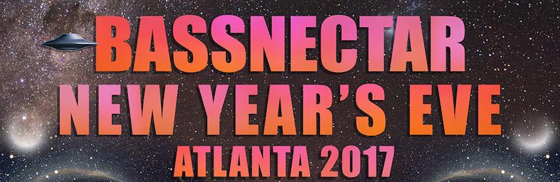 Bassnectar: NYE ATL 2017
