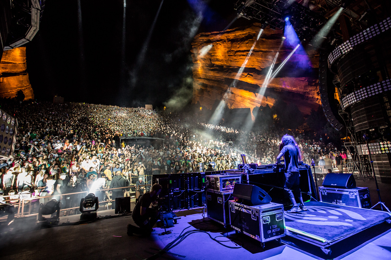 Bassnectar Red Rocks 2015
