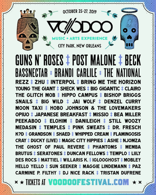 Bassnectar at Voodoo 2019