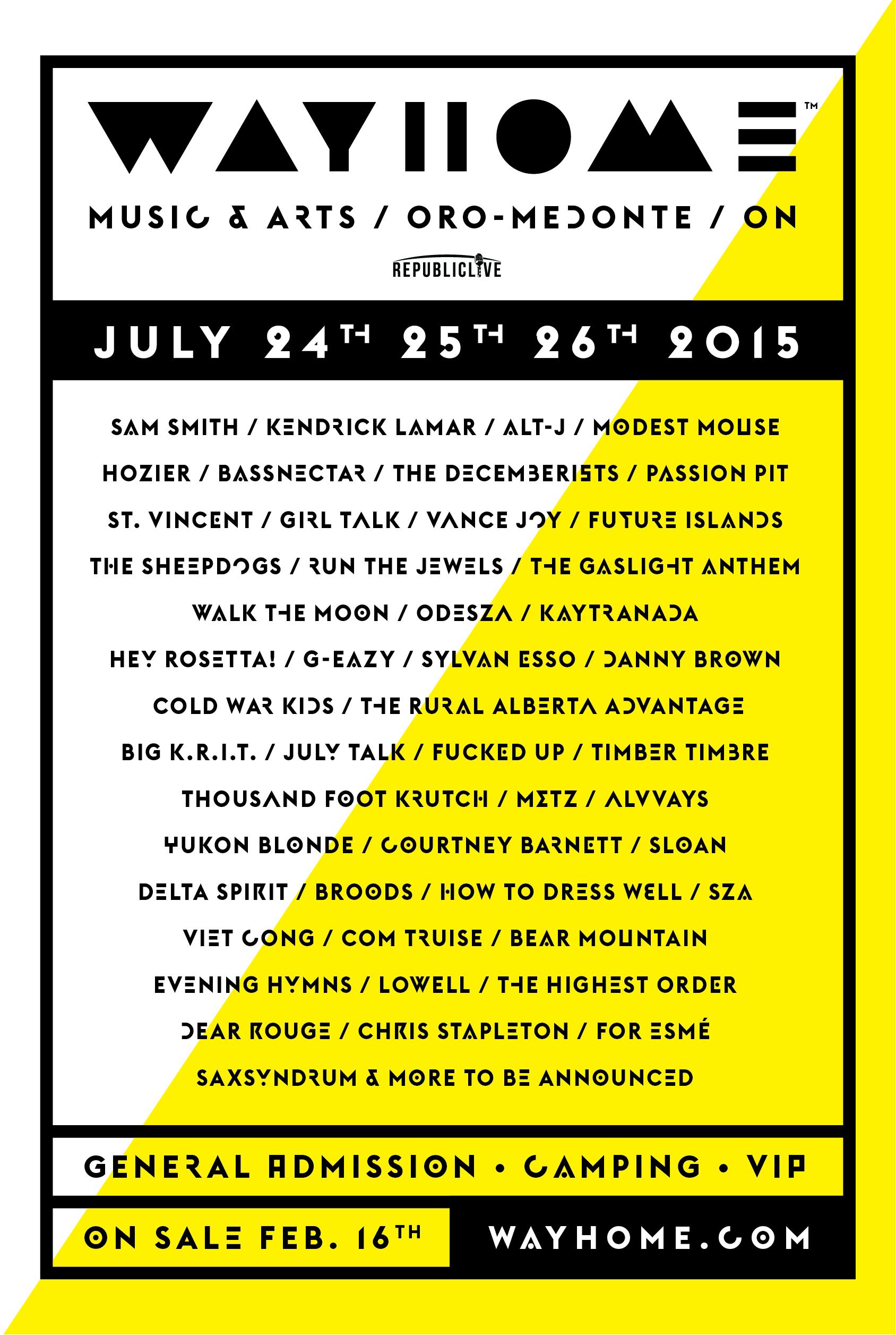Bassnectar @ WayHome Festival 2015