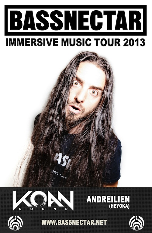 Bassnectar Immersive Music Tour 2013