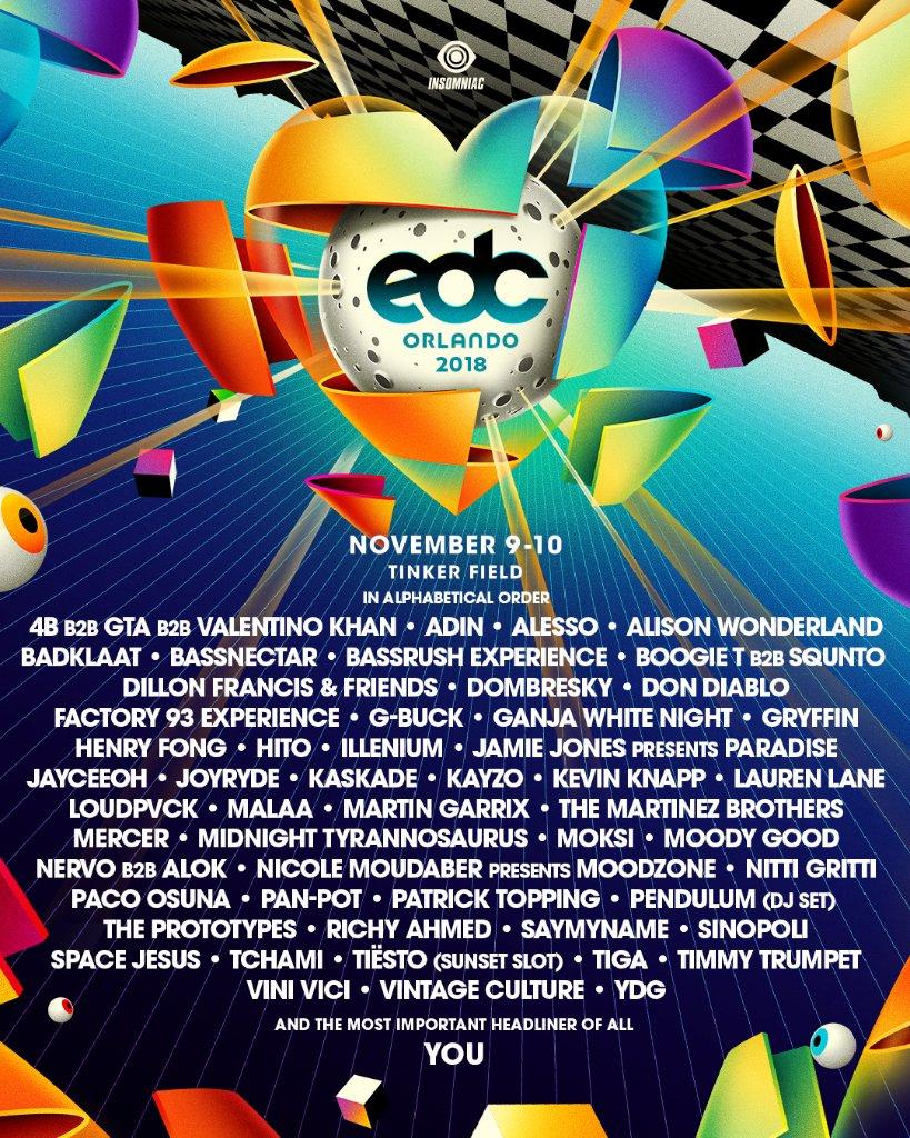 Bassnectar at EDC Orlando 2018
