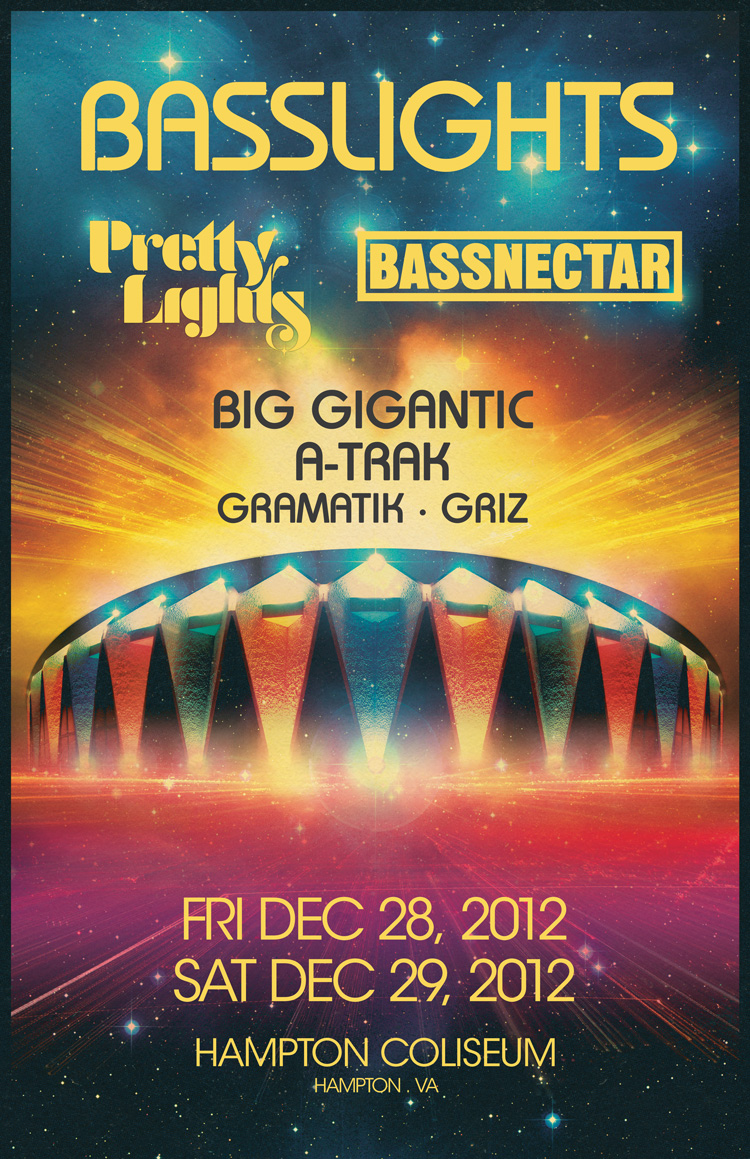 Bassnectar & Pretty Lights in Hampton, VA