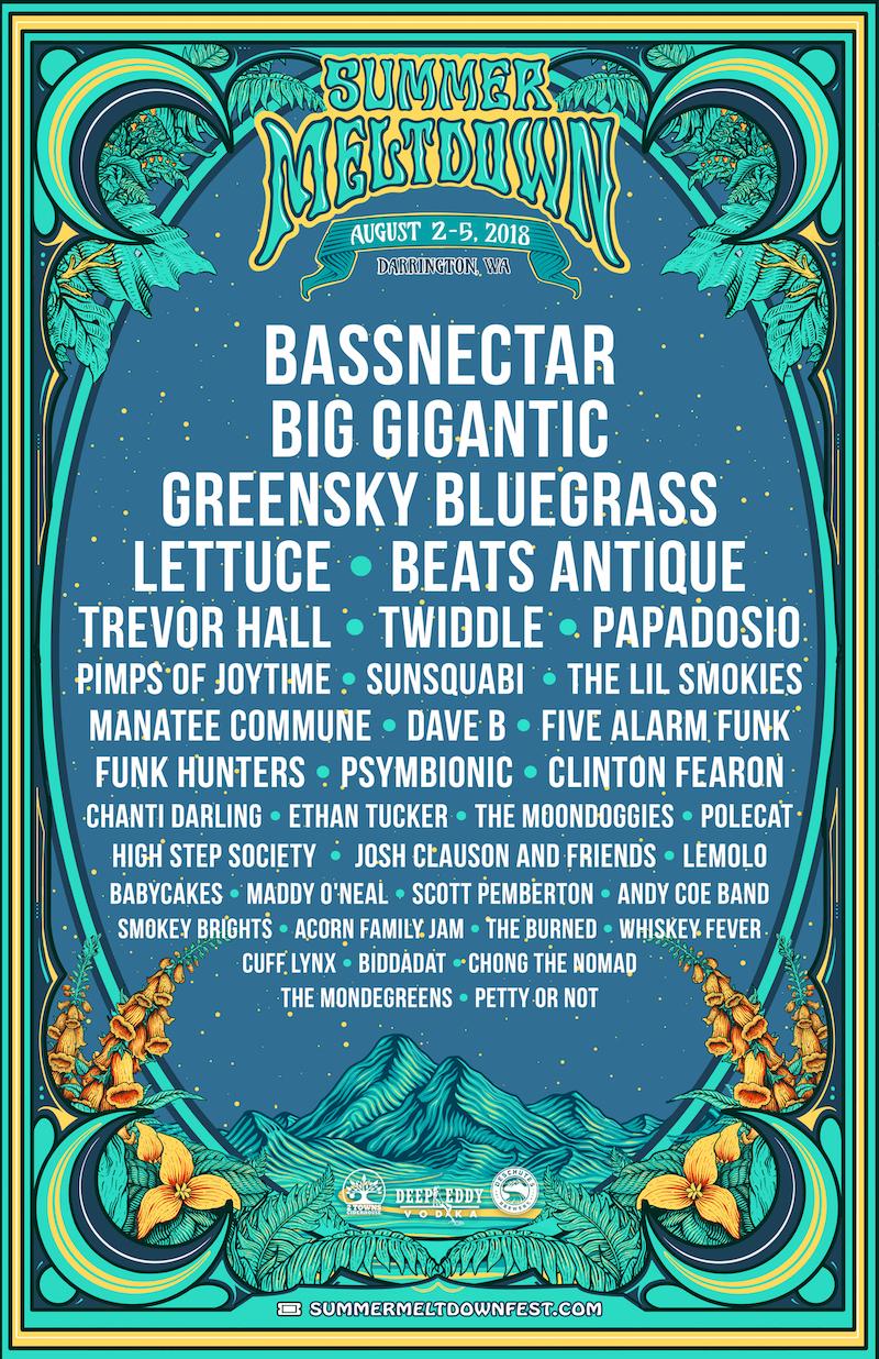Bassnectar at Summer Meltdown 2018