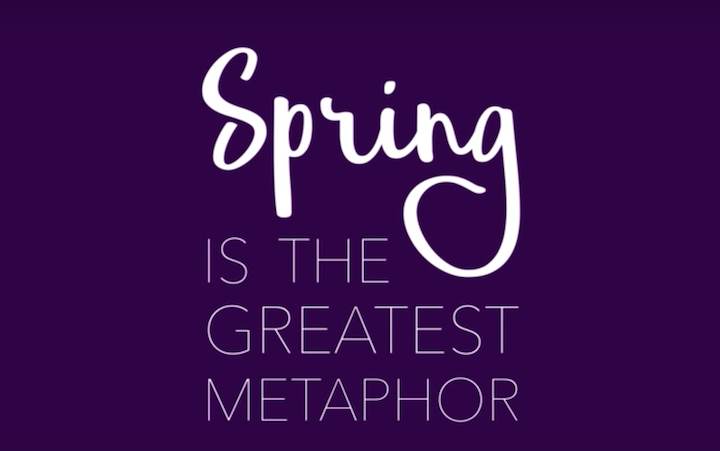 THE METAPHOR OF SPRING