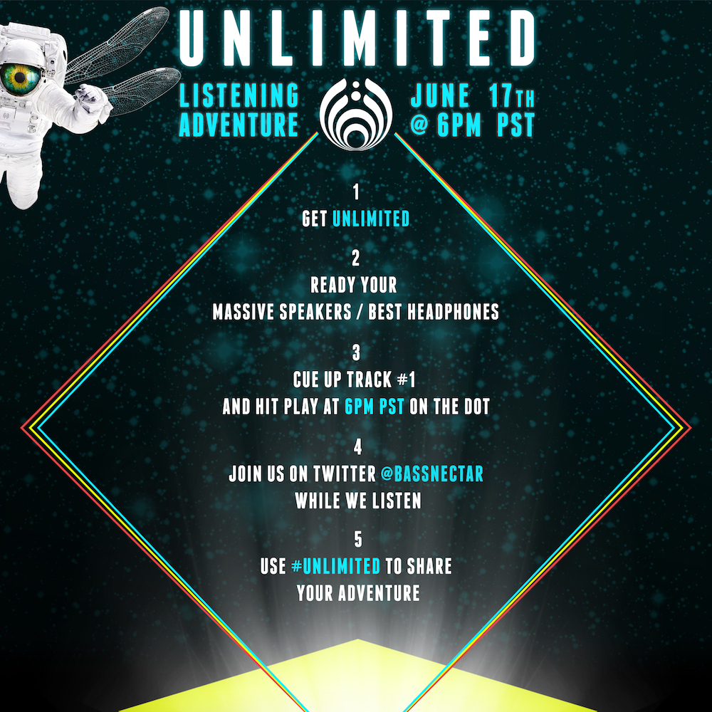 Bassnectar - Unlimited - June 17