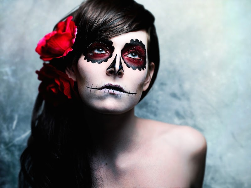 Day Of The Dead facepainting