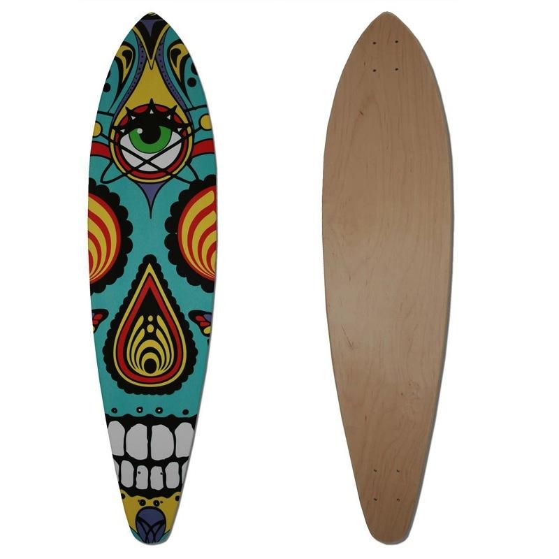 Skull Long Board
