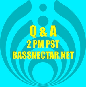 Bassnectar Q&A Session