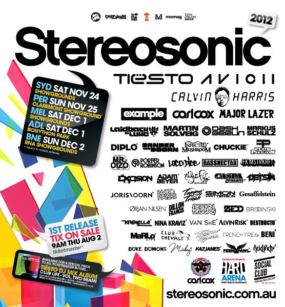 Bassnectar @ Stereosonic 2012